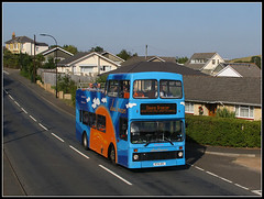 4841, Morton Road, Yarbridge (Jason 87030) Tags: yarbridge brading sandown iow isleofwight island volvo 4641 r241 r741xrv olympian downsbreezer 2016 august topless opentop doubledecker road pole shot flickr blue cove tourism driver wow