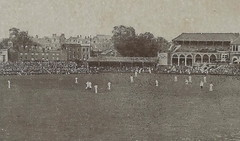 """UK SPORTS CRICKET c.1907 The Oval home ground of Surrey County Cricket Club since it was built in 1845 international cricket ground at Kennington London & Lambeth ENGLAND2 (UpNorth Memories - Donald (Don) Harrison) Tags: vintage antique postcard rppc """"don harrison"""" """"upnorth memories"""" upnorth memories upnorthmemories michigan history heritage travel tourism """"michigan roadside restaurants cafes motels hotels """"tourist stops"""" """"travel trailer parks"""" campgrounds cottages cabins """"roadside entertainment"""" """"natural wonders"""" attractions usa puremichigan"""