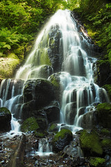 Fairy Falls (allan pudlitzke) Tags: waterfall explore hike travel outdoors gorge moss landscapes
