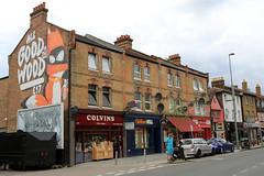 ronzo (Luna Park) Tags: london walthamstow woodstreetwalls streetart mural production lunapark ronzo fox goodinthewood