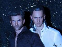 Logan & Loki (Anna_Mai) Tags: actionfigures hottoys loki wolverine