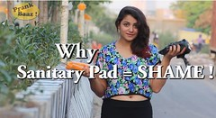 Social Experiment : A Girl Went Around Delhi Asking Shopkeepers Why They Sell Sanitary Pads In Black Bags (storyshouter) Tags: delhi prank shopkeepers socialexperiment sanitarypads prankbaaz