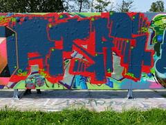 Graffiti Capelsebrug (oerendhard1) Tags: urban streetart art graffiti rotterdam atlas capelsebrug