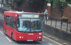 Arriva London DWS1 on route 410 Wallington 23/05/15. (Ledlon89) Tags: bus london transport londonbus tfl wallington arrivalondon bsues