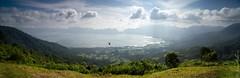 Marvelous Maninjau (mrfuller) Tags: travel panorama lake sumatra indonesia landscape lookout backpacking crater volcanic merge bukittinggi ngen maninjau dsc39481