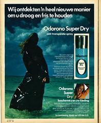Odorono 1970 (Nobo Sprits) Tags: sea reclame ad dry super 1970 werbung publicit deodorant deodorante odorono desodorant