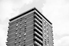 Lupin Point (photosam) Tags: blackandwhite london architecture mono raw masonry highrise housing bermondsey fujifilm southlondon southwark brickwork towerblock lightroom socialhousing xe1 fujifilmx xf1855mmf284rlmois xf1855mm1284rlmois