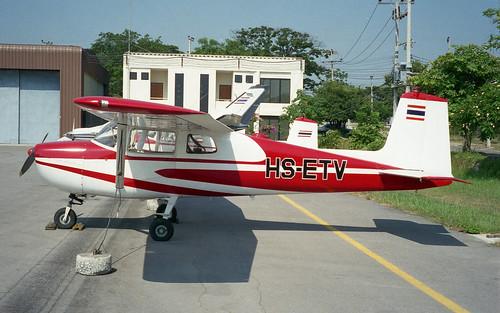 HS-ETV-02 Cessna 150B Hua Hin Apr96