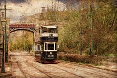 SL260416 National Tramway Museum 03 (Sh4un65_Artistry) Tags: painterly artwork transport digitalart tram places digitalpainting painteffect textured topaz on1 paintedphoto nationaltramwaymuseum topazimpression