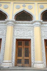 Door to one of the Palace buildings (VinayakH) Tags: india gardens royal palace hyderabad royalpalace nizam telangana chowmahallapalace