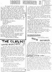 No 3 in a series of who knows how many.... (stillunusual) Tags: 48thrills fanzine punkfanzine punkzine punk punkrock newwave adrianthrills theclash clash whiteriot buzzcocks spiralscratch 1970s 1977