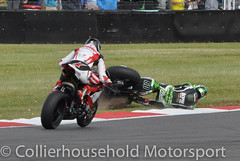 BSB - R2 (19) Peter Hickman slips off on oil (Collierhousehold_Motorsport) Tags: honda bmw yamaha suzuki ducati kawasaki mce bsb superbikes britishsuperbikes sbk snetterton msvr mceinsurance