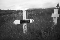 Icelandic grave (Alexandre Dulaunoy) Tags: iceland islande sooc graves blackwhite bw noiretblanc noirblanc old abandoned cimetire graveyard cemetery
