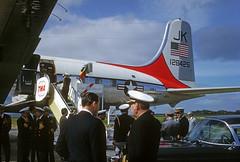 128425 Douglas VC-118B (Irish251) Tags: portugal lisbon military navy douglas admiral usn 1963 dennison lppt c118 vc118 128425