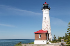 Crisp Point Lighthouse (JGKphotos) Tags: 6d canoneos6d crisppointlighthouse michigan upperpeninsula