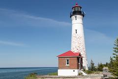 Crisp Point Lighthouse (JGKphotos) Tags: 6d canoneos6d crisppointlighthouse michigan upperpeninsula