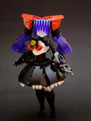 Tsukiko (Djokson) Tags: red black anime girl hair japanese dress purple lego gothic manga lolita bow rori moc frill gosu djokson