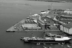 HMS Warrior (Craig Williams Photography) Tags: warrior hms spinnaker tower arial royaldocks dockyard