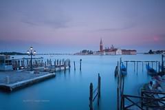 Venice Style (Ag-NO3 Angelo Sampino) Tags: city sunset sea sky italy  landscape nikon san long tramonto mare riva time cielo laguna angelo venezia tempo paesaggio giorgio citt isola veneto lungo schiavoni agno3 d700 sampino