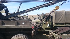 RECOVERY POSITION (71B / 70F ( Ex Jibup )) Tags: warpeace military tank vehicle jeep truck war destruction fighting restored camouflage tracked wheeled gun weapon wwii armour freedom conflict