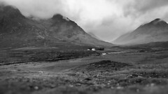 Miniature white (haqiqimeraat) Tags: scotland clouds mountains dwelling hills scottish monochrome mono light blackwhite tokina ultrawide wide nikon