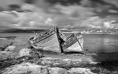 Fishing Boat Wrecks Salen Signed (Scottsail) Tags: mull salen scottsail concordians