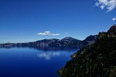 Crater Lake Reflections (Skip Plitt) Tags: skipplittphotography caldera bluewater oregon nationalpark craterlake