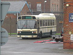 Awaiting Its Next Outing. (ManOfYorkshire) Tags: a301kjt leyland 2 national2 national dockyard gosport hampshire nostalgia history preserved waiting parked home base stored provincial peoples first