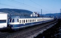 456 406  Mosbach  12.02.84 (w. + h. brutzer) Tags: analog train germany deutschland nikon eisenbahn railway zug trains db 456 mosbach eisenbahnen triebwagen triebzug et56 triebzge webru
