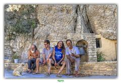"""HIP HIP HIP... HIPPIES !"" (rgisa) Tags: crete hippies kriti greece grce creta matala"