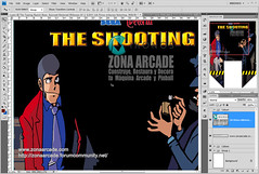 Lupin III The Shooting Base. Restored Mikonos2 (Mikonos - Zona Arcade) Tags: lupin the third iii shooting base naomi sega zona arcade mikonos artwork restored