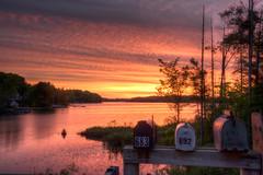 You've Got Mail (leomacdonald) Tags: sunrise gouldlake ontario canada cottage explore