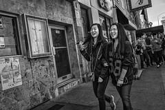 10th Street, 2016 (Alan Barr) Tags: philadelphia 2016 chinatown 10thstreet arch street sp streetphotography streetphoto blackandwhite bw blackwhite mono monochrome candid people ricoh gr