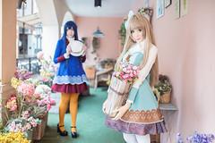 Love Live! (Tumeatcat) Tags: anime cosplay portrait lovelive kotori umi nikon d800 thailand nendoroid