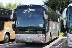 Aziz AAZ 7520 (johnmorris13) Tags: aziz aaz7520 scania vanhool coach