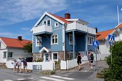 The blue house (Tina K) Tags: woodenhouse blått hus trehus smøgen sverige sweden rural