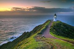 Reinga Light (hapulcu) Tags: capereinga newzealand northisland nz northland dusk kiwi lighthouse sunset winter