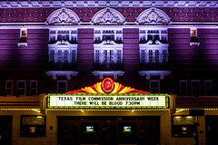 There Will Be Blood (Thomas Hawk) Tags: america austin paramount paramounttheatre texas therewillbeblood usa unitedstates unitedstatesofamerica neon theater fav10 fav25