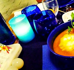 Blue (Julyyaa) Tags: azul blue latomacablava altea alicante alacant comunidadvalenciana restaurante restaurant