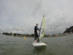 Beginners Windsurfing Lessons - August 2016