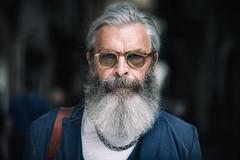 Stranger #64/100 Roberto [Explored 19-09-16] (Mario Frassine) Tags: beard naturallight fashion 100stragersproject nikond800 nikon85mm portrait brescia reflector street stranger