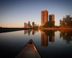 Palace Pier Sunrise (Michael Mitchener) Tags: palacepier canoe nessie urbanvoyageur michaelmitchenercom