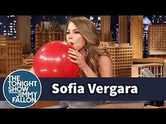 Sofia Vergara Chats with Jimmy While Sucking Helium (Download Youtube Videos Online) Tags: sofia vergara chats with jimmy while sucking helium