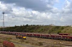 66023 Tees Yard 02/05/2015 (Flash_3939) Tags: uk train diesel may rail railway locomotive dbs 2015 teeside class66 ews thornaby teesyard 66023 dbschenker