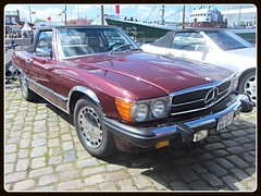 Mercedes-Benz 350 SL _ US Version (v8dub) Tags: auto old classic car germany deutschland mercedes benz spider automobile version convertible s automotive voiture spyder sl 350 german u oldtimer oldcar cabrio allemagne bremerhaven collector roadster cabriolet niedersachsen youngtimer wagen pkw klassik worldcars