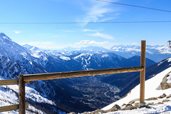Chamonix Valley - The view from above. (Siili-Mimi) Tags: france chamonix montblanc