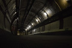 Dark tunnel (Matt From London) Tags: tube tunnel londonunderground downstreet ghoststation