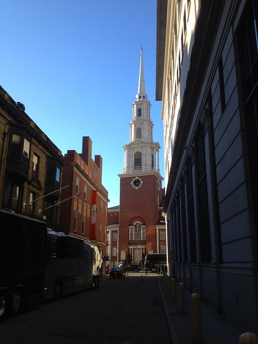 Park Street Church, built 1810, Boston