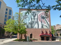 Leafy (Lorianne DiSabato) Tags: streetart college boston campus ma mural nu massachusetts northeastern elmac northeasternuniveristy