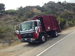 Volvo/Pack-Mor on Residential Recyling (SoCalGarbageTrucks) Tags: trash truck volvo garbage rear pack trucks refuse loader recycling mor